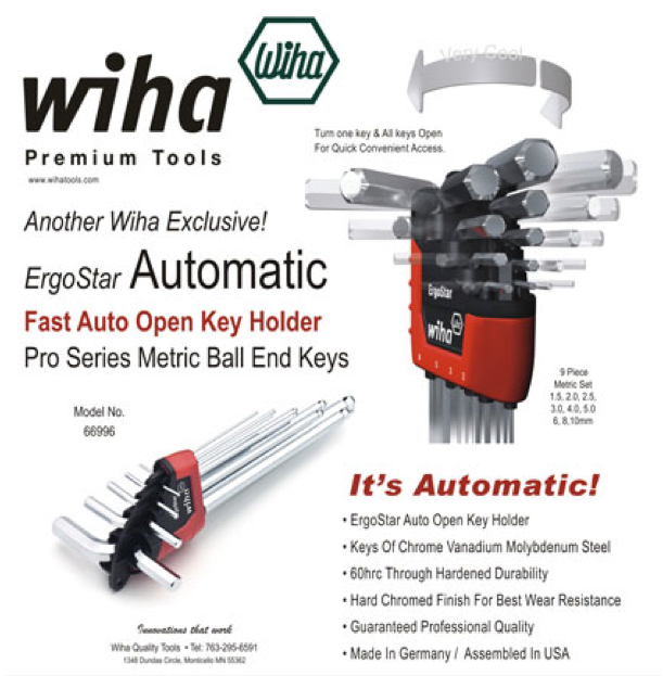 Wiha Ergostar Hex Key set