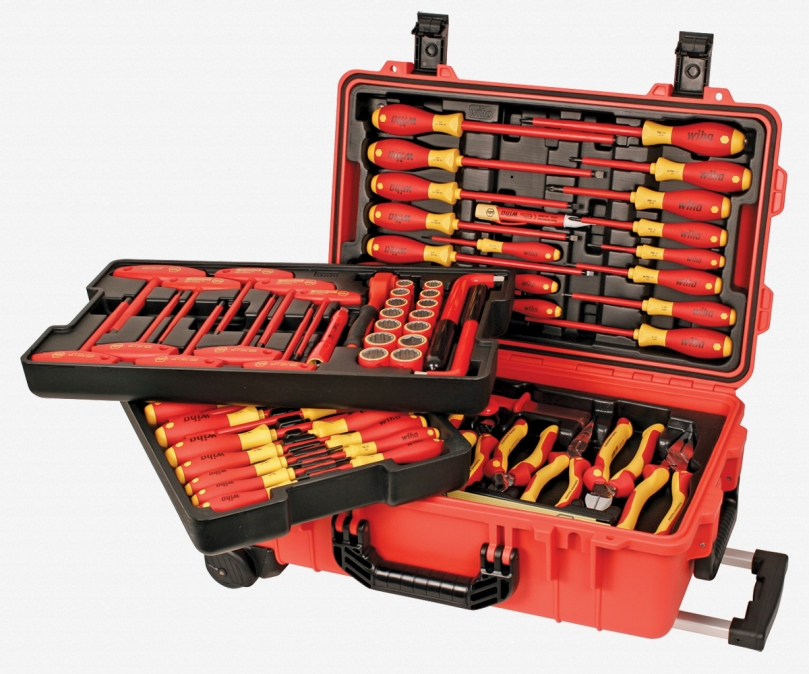 80 Piece Insulated Rolling Tool Case!