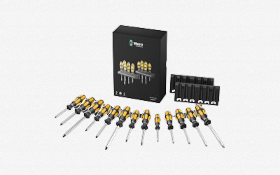 Wera Big Pack 900 Chiseldriver 13 pc Set KC Tool