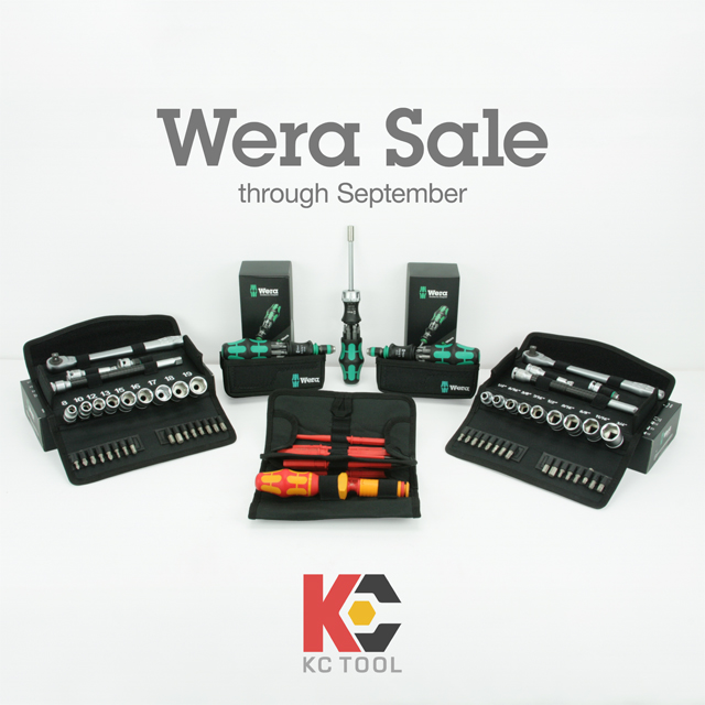 Wera Tools Sale KC Tool