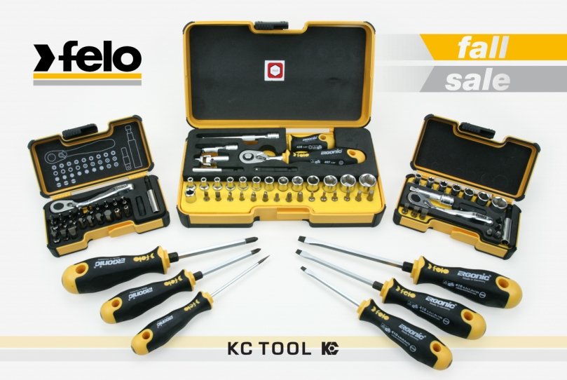 KC Tool Felo Tools Fall Promo Sale